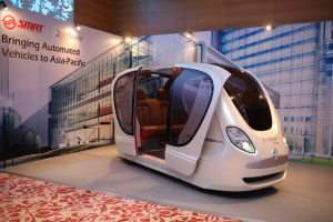 Taxiuri autonome vor circula prin Singapore