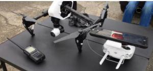 Prima dronă autorizată deasupra orașului Cleveland