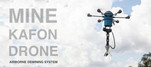 Drone care detectează și detonează minele terestre