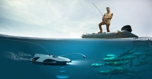 Dronă subacvatică, un ajutor pentru pescarii amatori