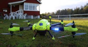 UAV mai eficient decât o ambulanță, în unele situații