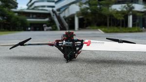 Un nou UAV, care zboară ca un elicopter și ca un avion