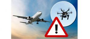 Avertisment, a crescut numărul de incidente cu drone