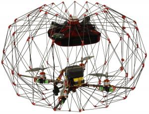 Elios poate pătrunde în zone inaccesibile altor drone