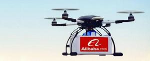 Alibaba trimite pachete, pentru prima dată, peste apă