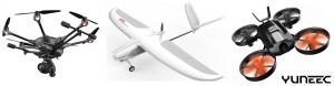 Noile drone lansate de compania Yuneec la CES 2018