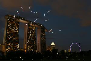 Finanțare pentru operațiunile cu drone în Singapore