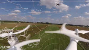 Fortem Technologies, Inc. a prezentat DroneHunter