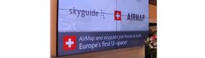 Colaborare între Skyguide (Elveția) și AirMap (SUA)