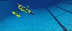 EagleRay XAV se poate scufunda, poate înota și zbura