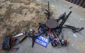 Încercare de transport pachete cu drona, în Rusia