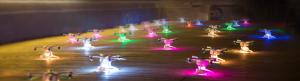 Nou record pentru numărul de drone în zbor coordonat