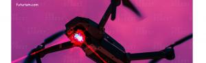 Drone militare alimentate cu energie prin fascicul laser