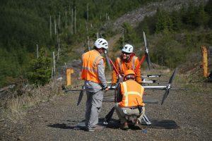 Replantarea arborilor în zonele despădurite, cu drone