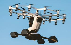 Drona care transportă persoane pentru divertisment