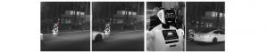 Robot umanoid lovit grav de o maşină autonomă