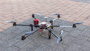 Dronele DJI M600 pot fi recuperate cu parașuta DRS