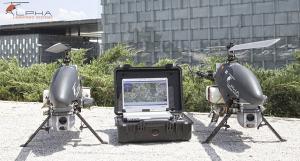 Agricultură de precizie cu drona elicopter Alpha 800