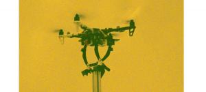 Modul prin care dronele se prind de anumite obiecte