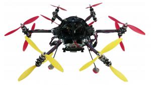 Drona cu șase brațe și 12 rotoare coaxiale (ASL, ETHZ)