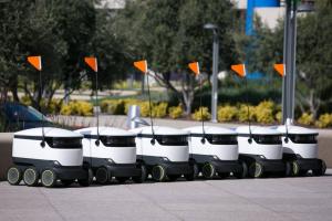 Cererea de roboți pentru livrări crește exponențial