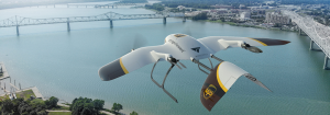 UPS va face livrări cu drone pentru cei care stau acasă
