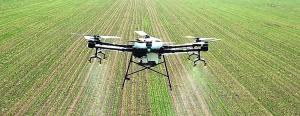 Drona hibrid cu rezervor de pulverizare de 25 de litri