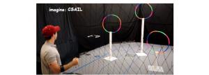 Sistem care permite controlul dronei cu gesturi din braț