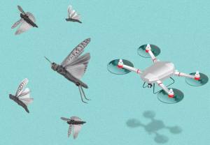 Drone (UAV) folosite pentru ocrotirea culturilor agricole