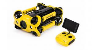 Dronă subacvatică (ROV) pentru aplicații industriale