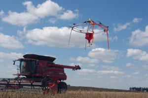Drone (UAV) pentru plantarea culturilor de acoperire