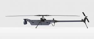 O dronă inteligentă Anduril pentru paza frontierelor
