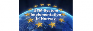 UTM Norvegia, primul sistem funcțional din Scandinavia