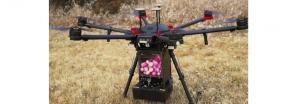 """Drone folosite de pompieri ca să arunce """"mingi de foc"""""""