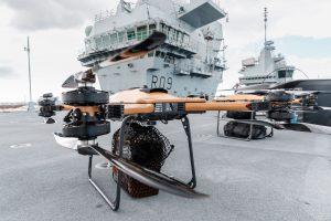 TRV-150, drona care transportă o sarcină utilă de 68 kg