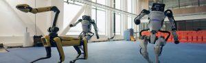 Roboții Atlas, Handle și Spot pot acum și să danseze (!)