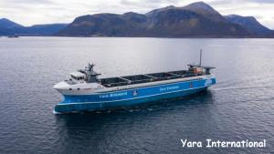 Prima navă cargou ecologică și autonomă din lume