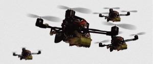 Dronele FlyCroTug ridică de 40 de ori greutatea lor