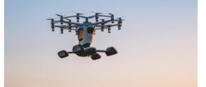 """Prima """"mașină de zbor individual"""", complet electrică"""