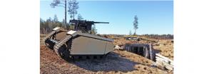 THeMIS, robot de luptă la sol care funcționează BVLOS