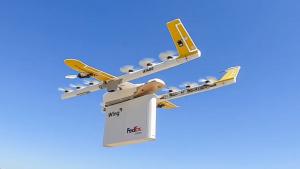 Wing + FedEx Express + Walgreens = Livrări cu drone