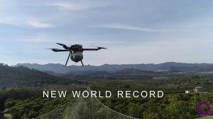 Recordul mondial de anduranță al dronei HYBRiX 2.1