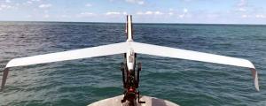 Operațiuni cu mini-drone aeriene (UAV) lansate de USV