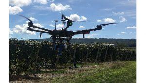 Drone și tehnologie modernă în ajutorul podgorenilor (2)