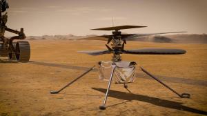 NASA pregătește zborul dronei Ingenuity pe Marte (1)