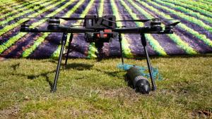 Drone pentru colectarea datelor din culturile agricole