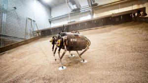 Robotul care face salturi și trece ușor peste denivelări