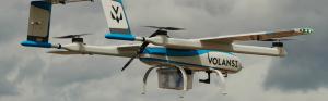 Livrări de pachete pe nave din largul mării cu drona